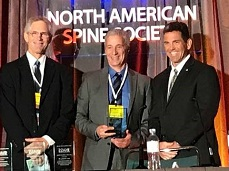 Jeffrey Lotz, PhD, recognized for outstanding contributions in spine-related basic science research