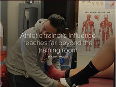Feature: UCSF athletic trainer's influence reaches far beyond the training room