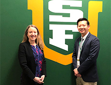 Carlin Senter, MD, to travel with USF Dons to West Coast Conference Basketball Tournament